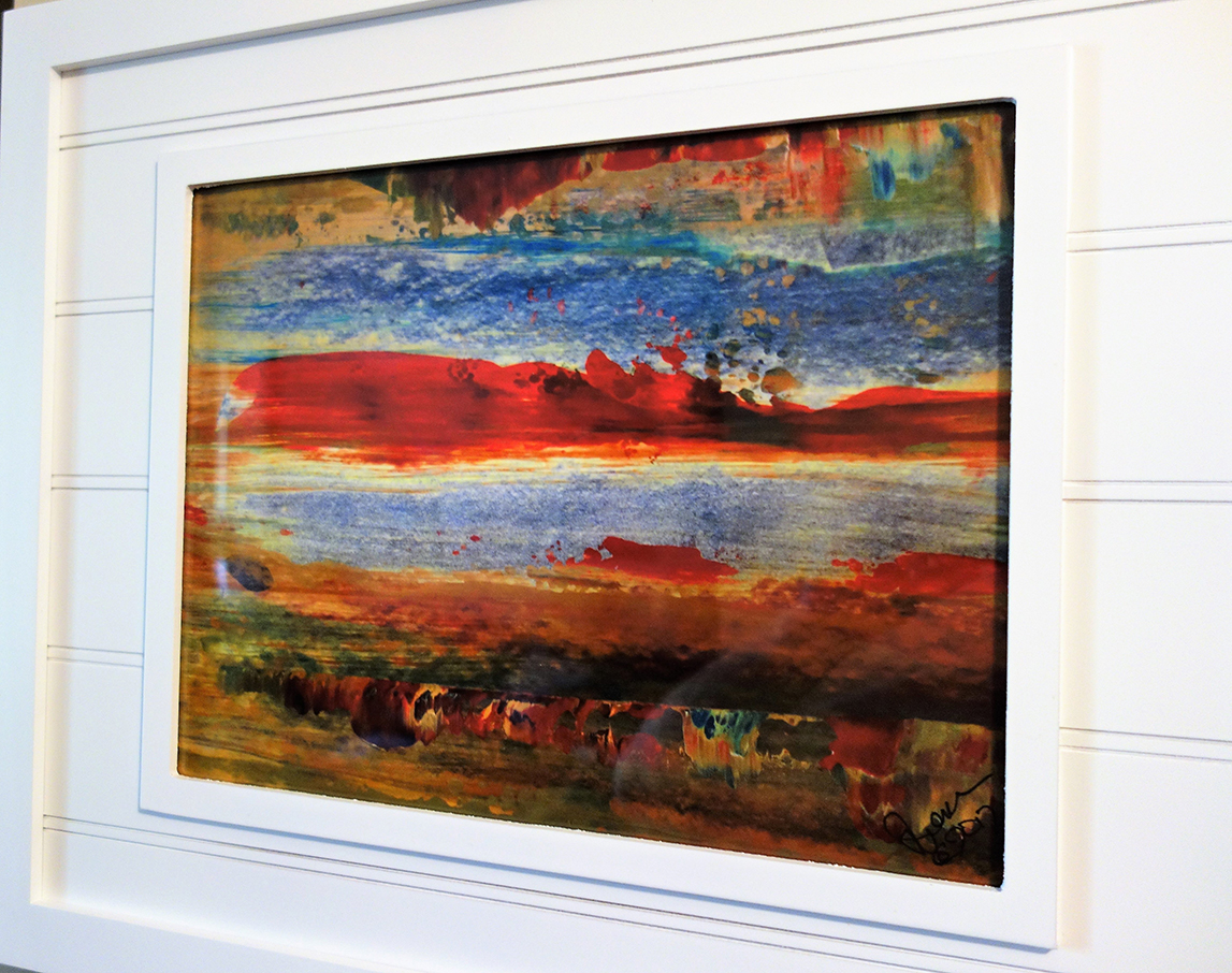 Ken iverson art consult a professional picture framer about the many framing and mounting possibilities jeuxipadfo Image collections